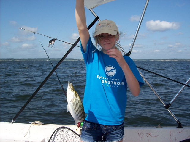 White/striped bass fun