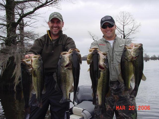 Fishing Texas Network Caddo Lake Report